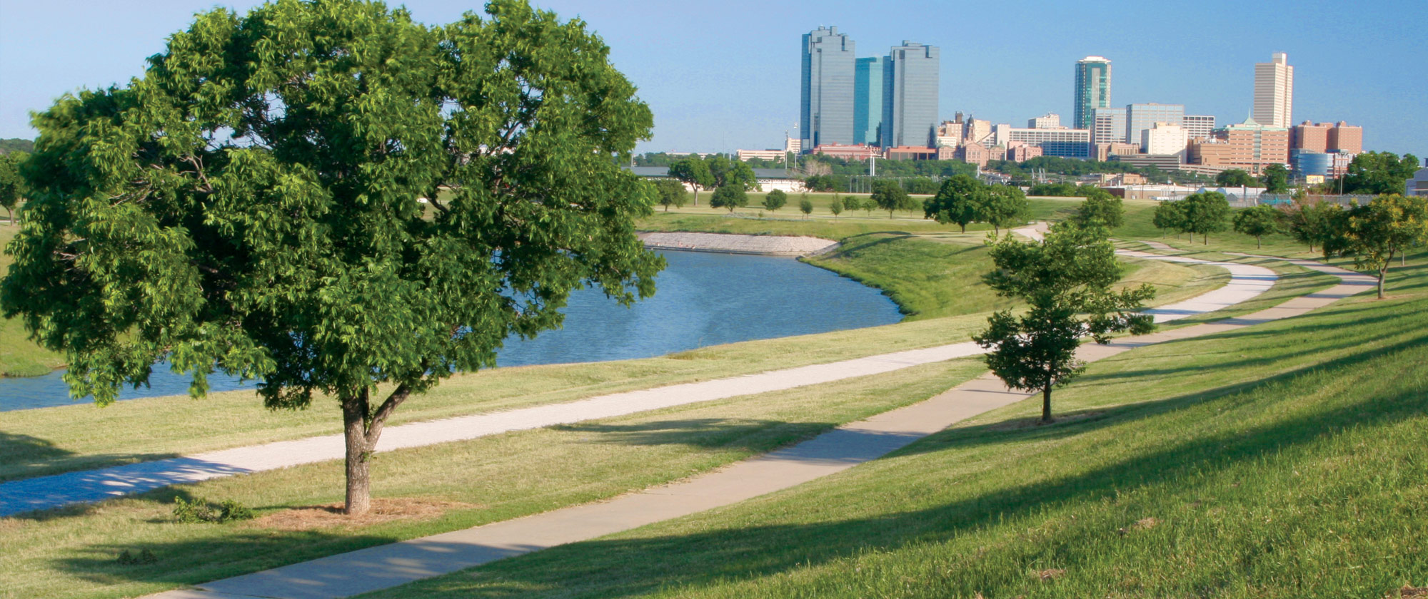 Fort Worth Trails River